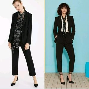 EUC MAXMARA Single-Breasted Notch Lapel Blazer